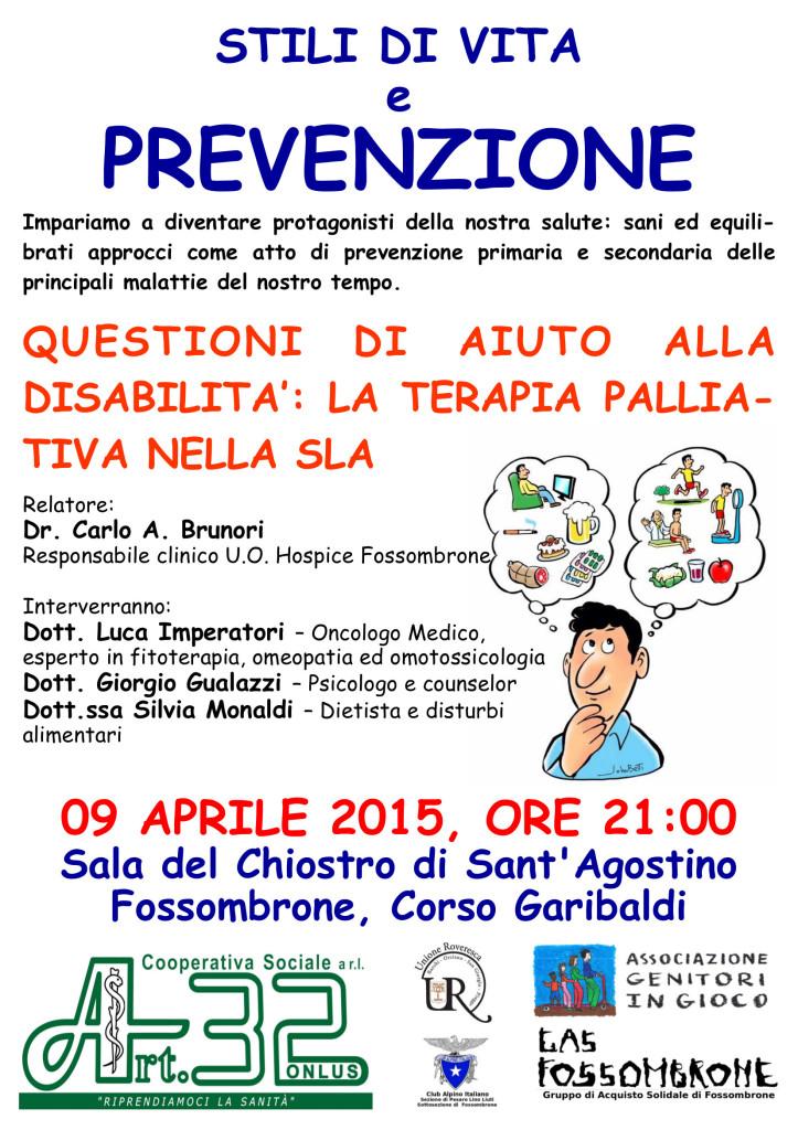 VOLANTINO 09.04.2015 Fossombrone