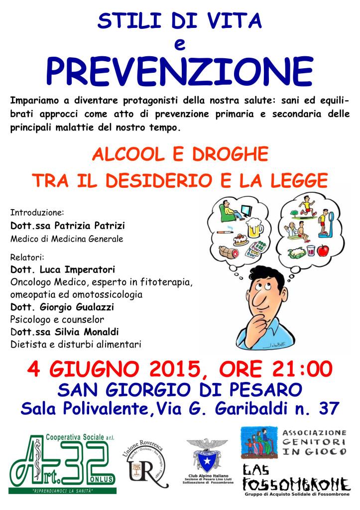 VOLANTINO 04.06.2015 Fossombrone