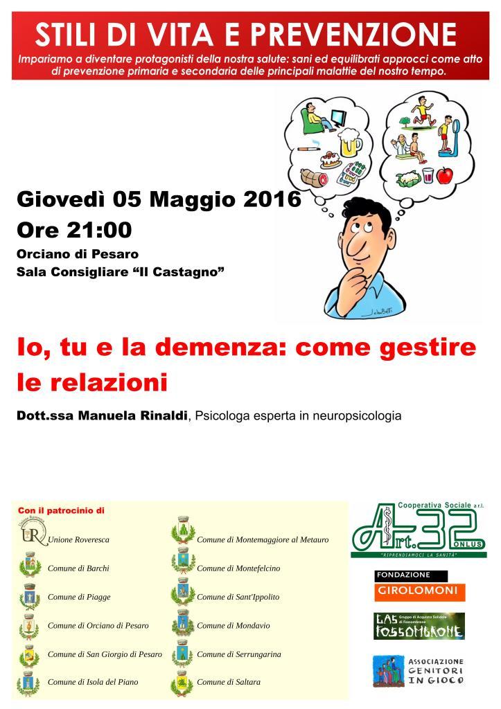 VOLANTINO Programma 05.05.2016
