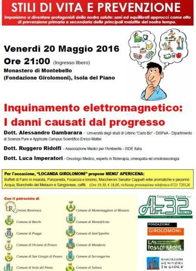 VOLANTINO Programma 20.05.2016