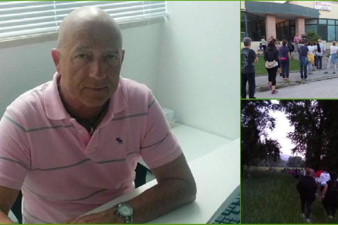 18/09 Ore 20:00 Precorsi di prevenzione: Camminata in compagnia del Dott. Fabio Pietrelli Pneumologo