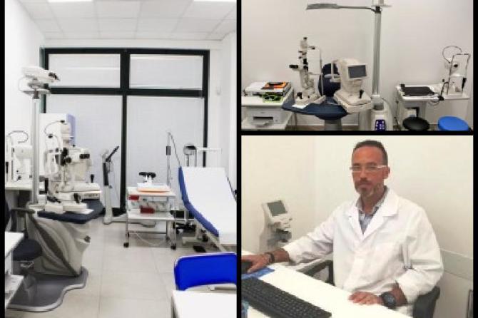 AMBULATORIO OCULISTICO TRE VOLTE ALLA SETTIMANA AL CENTRO SALUTE, RISPONDIAMO ALLE TUE NECESSITA' SENZA ATTESE