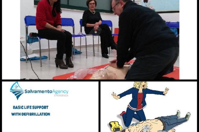 CORSO OPERATORE BLSD E AGGIORNAMENTO PRESSO IL CENTRO SALUTE ART 32 ONLUS
