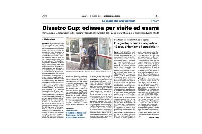 LISTE D'ATTESA E INTASAMENTO CUP REGIONALE: IL CONTRIBUTO DI ART. 32 ONLUS