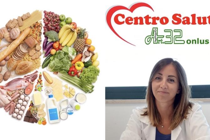 La Dott.ssa Silvia Monaldi, Dietista specializzata in Scienze della Nutrizione Umana, visita presso il Centro Salute Art.32