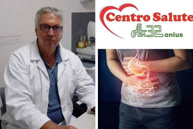 Il Dott. Franco Sciuto, Medico Chirurgo Specializzato in Gastroenterologia ed Endoscopia digestiva visita presso il Centro Salute Art. 32