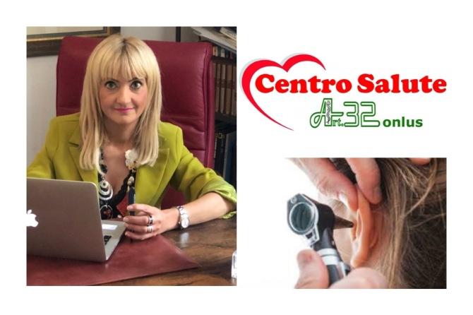 La Dott.ssa Francesca Castellani effettua visite otorinolaringoiatriche ed esami strumentali presso il Centro Salute Art.32 Onlus