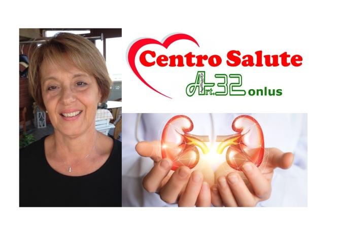 Screening nefrologico gratuito con la Dott.ssa Oliva Simonetta, già Direttrice di Nefrologia e Dialisi presso l'Ospedale S.Croce di Fano, in occasione della Giornata mondiale del Rene di lunedì 15 marzo