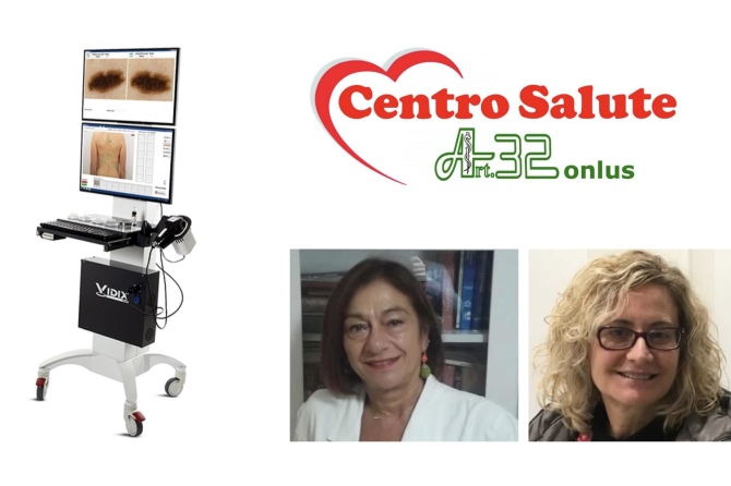 Videodermatoscopia digitale nella prevenzione del melanoma al Centro Salute Art.32